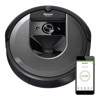 iRobot Roomba i7 smart robot vacuum cleaner and accessories bundle