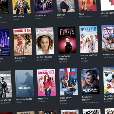 4K UHD and Digital HD films at iTunes for $5 each