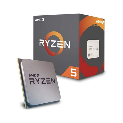 AMD Ryzen 5 2600 computer processor with Wraith Stealth Cooler