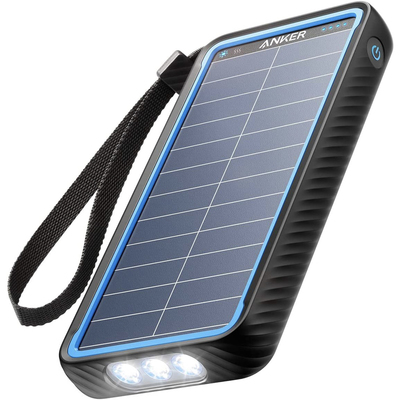 Anker charging cables, wall chargers, and solar power banks
