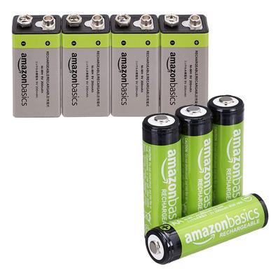 AmazonBasics Rechargeable Batteries sale