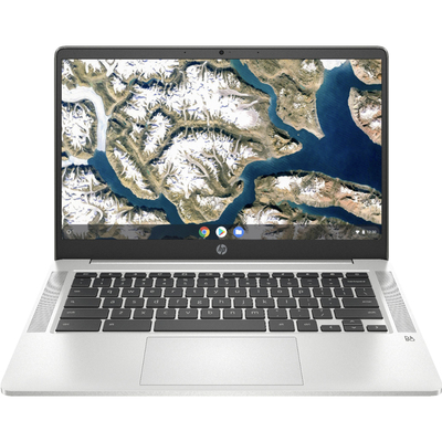 HP 14-inch Chromebook natural silver
