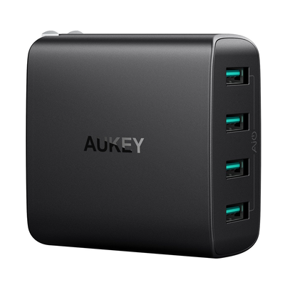 Aukey 40W 4-port USB Wall Charger