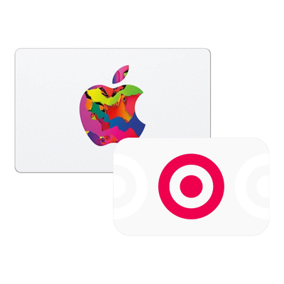 $100 Apple gift card + $20 Target gift card