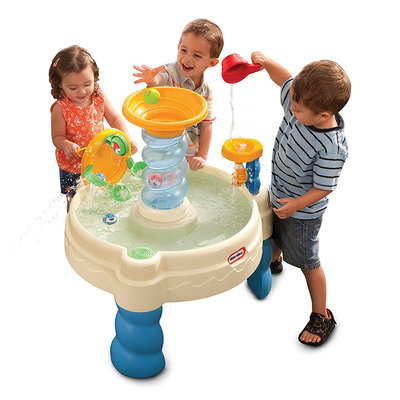 Have fun in the sun with this discounted Little Tikes water play table