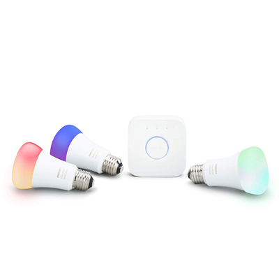 Philips Hue White and Color Smart Bulb Starter Kit