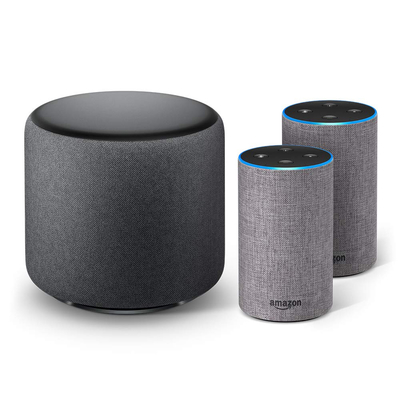 Amazon Echo Sub Bundle with 2 Echo (2nd Gen) devices