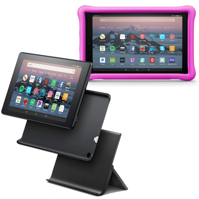 Amazon Fire HD 10 + Kids Edition Case or Show Mode Charging Dock