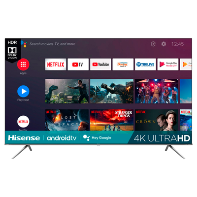 Hisense 85-inch LED 4K UHD Smart Android TV (H6510G Series)