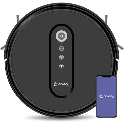 Coredy robot vacuum cleaners with smart features