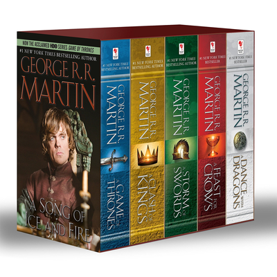 Game of Thrones: 5-book Paperback Boxed Set