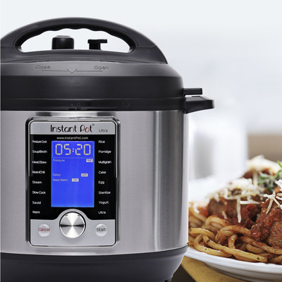 Instant Pot Ultra 6-quart 10-in-1 programmable pressure cooker