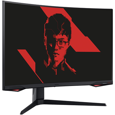 Samsung Odyssey G7 27-inch curved gaming monitor Red