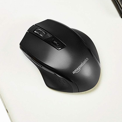 Click 'Add to Cart' to get this AmazonBasics Wireless Mouse for only $5