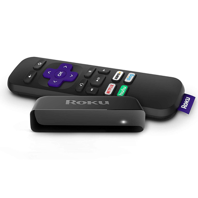 Roku Premiere 4K HDR streaming media player with remote