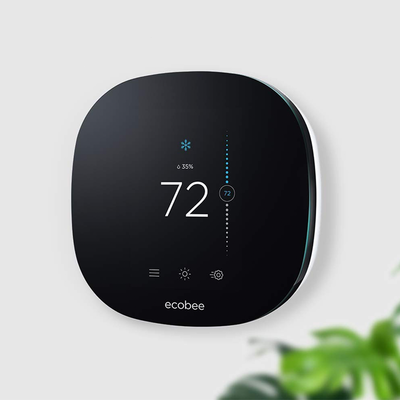 Reduce your heating bill with an Ecobee3 Lite or Ecobee4 smart thermostat from $120 today only