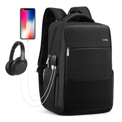 HOMIEE Laptop Backpack with USB Charging Port