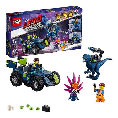 The LEGO Movie 2 Rex's Rex-treme Offroader! Building Kit