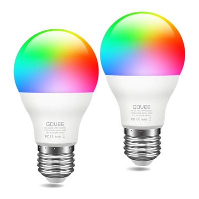 Govee Wi-Fi Smart Light Bulbs (2-Pack)