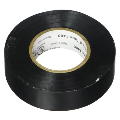 Replenish the junk drawer with a roll of 3M Vinyl Electrical Black Tape for $1