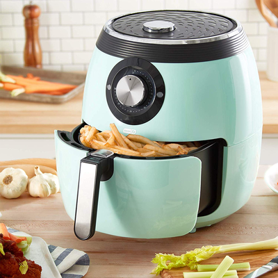 Make healthier food faster with the Dash Deluxe Air Fryer at $30 off today only