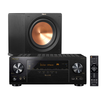 Feel the action with stellar low prices on Pioneer and Klipsch audio essentials today only