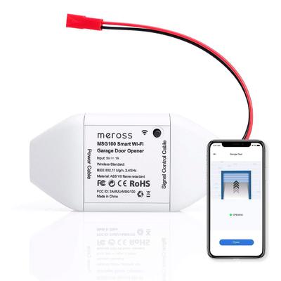 Meross smart Wi-Fi garage door opener remote