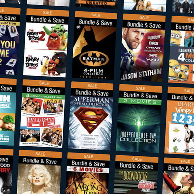 Vudu's End of Year Sale on Digital Films and TV Shows