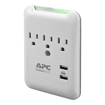 APC Wall Surge Protector with USB Ports