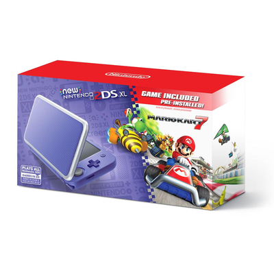 Nintendo 2DS XL Mario Kart 7 Bundle