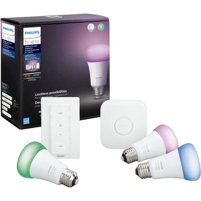 Philips Hue multi-color 3-bulb starter kit
