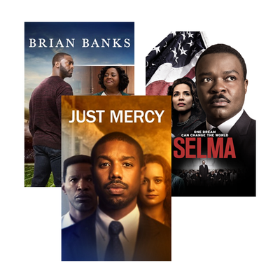 Free iTunes movie rentals of Selma, Just Mercy, and more