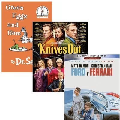 Target Buy 2 get 1 Free on movies or kids' books