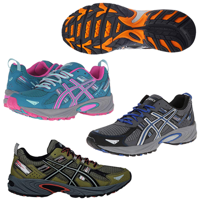 Hit the trail with up to 20% off ASICS men's and women's running shoes today only at Amazon