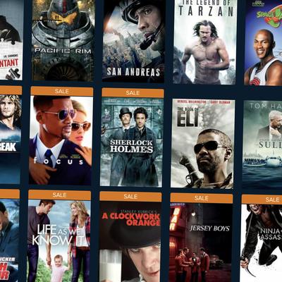 Vudu Digital HD and 4K Weekend Movie Sale