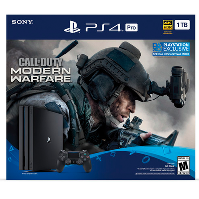 PlayStation 4 Pro 1TB Call of Duty: Modern Warfare bundle
