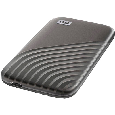 WD My Passport 500GB external USB-C portable solid state drive