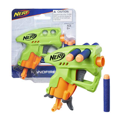 Hide away Nerf's tiny N-Strike NanoFire blaster to surprise your friends for just $4