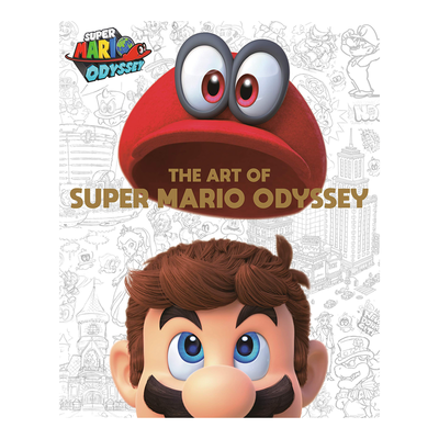 Pre-order the hardcover Art of Super Mario Odyssey book at a $12 discount via Amazon