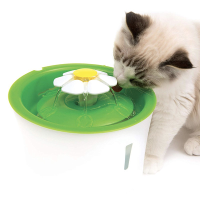 The Catit Flower Fountain on sale for $17 gives your cat a constant source of fresh water
