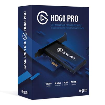 Elgato Game Capture HD60 Pro 1080p Stream + Record Capture Card