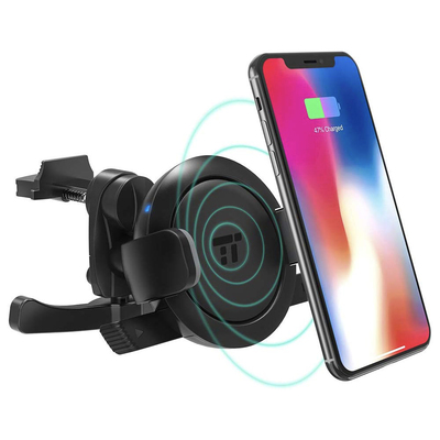 TaoTronics air vent wireless charging phone holder for the car