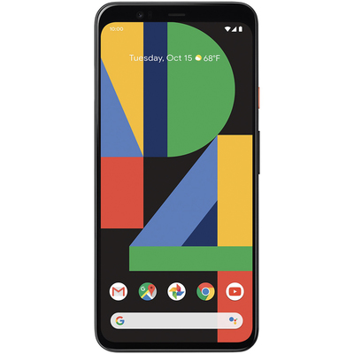Google Pixel 4 smartphone with second free