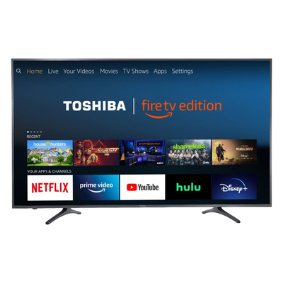 Toshiba 65-inch 4K HDR Fire TV