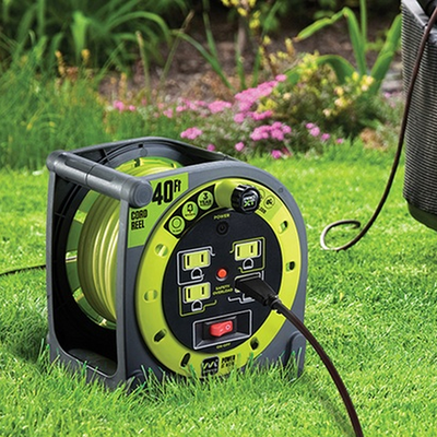 Keep your garage tidy with a MasterPlug Heavy Duty Extension Cord Reel on sale from $20