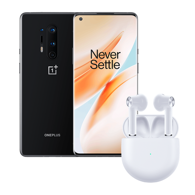 OnePlus 8 with free OnePlus Buds