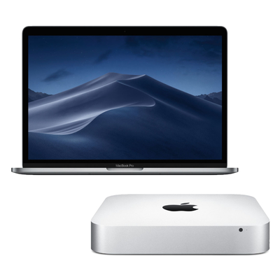 Apple MacBook Pro and Mac mini sale