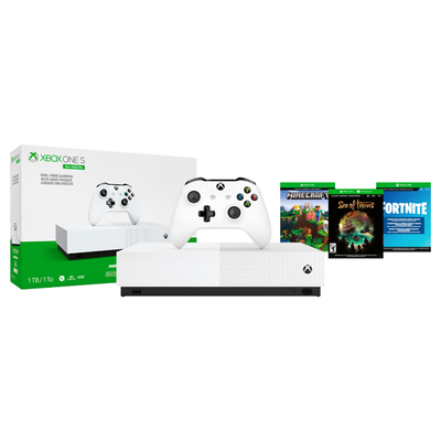 Xbox One S All-Digital Edition Console with 3 games