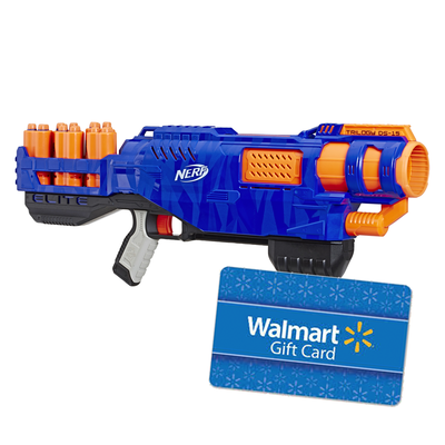 Nerf N-Strike Elite Trilogy DS-15 with $10 Walmart Gift Card