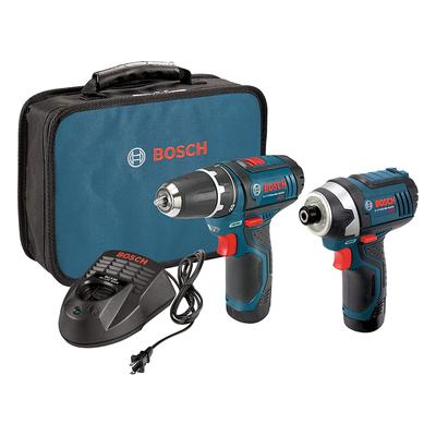Bosch Power Tools Combo Kit 12-Volt Cordless Tool Set